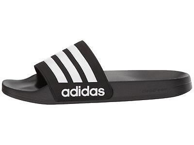 e086e59734252 ... Men adidas NEO CF Adilette Slide Sandal AQ1701 Core Black White Core  Black NEW