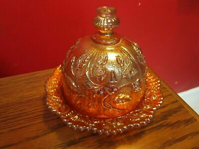 Marigold Carnival Amberina Decanter Footed Bowl Dome Butter Dish Pitcher Pick1 6