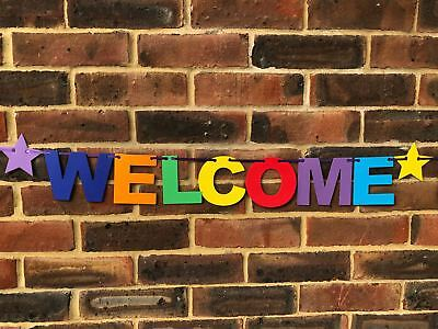 Personalised Welcome Home Banner Bunting Decoration Multi-Colour New Arrival 4