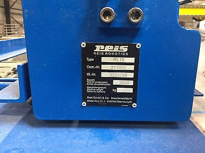 REIS ROBOTICS RL16 Series 3-Axis Gantry Robot Cartesian Injection Molding