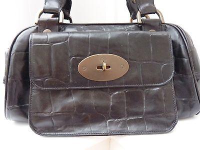 58e236a2cae6 ... Genuine MULBERRY Jamie Bag - £595 - Vintage Black Congo Leather -  REDUCED 2