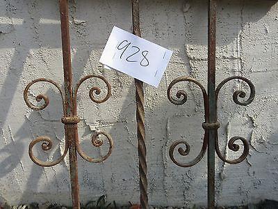 Antique Victorian Iron Gate Window Garden Fence Architectural Salvage #928 4