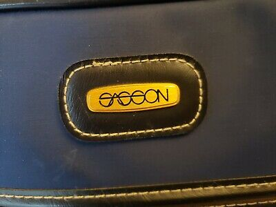 Vintage Sasson Luggage- Carry On -Travel Overnight Bag- Travel Tote 4