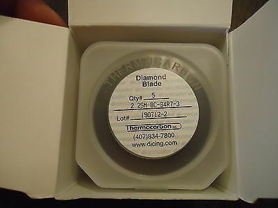 5 New Dicemaster Diamond Blades For Tcar 864-1 2.25M-8C-64R7-3 Thermo Carbon