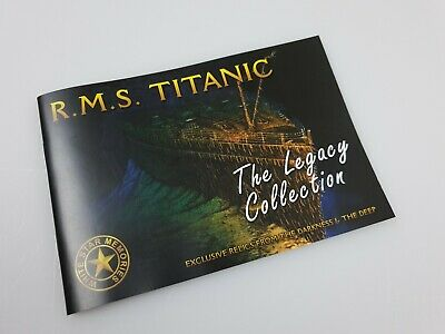 """Genuine RMS TITANIC - 'Legacy Collection' """"Rusticle"""" Fragment 6"""