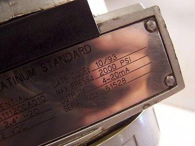 New Bailey Platinum Standard Pressure Transmitter Ptdda111200A010