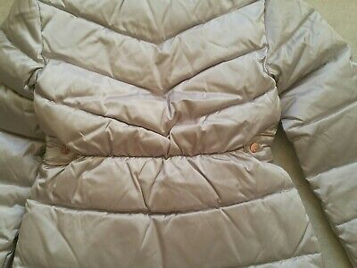 Baker by Ted BakerGirls' Ivory Padded Shower Resistant Coat Age 12 Years 6