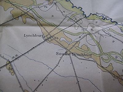 Soil Survey Map Lee County South Carolina Bishopville Lynchburg Smithville 1907 4