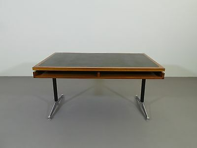1 Von 11 Schreibtisch Egon Eiermann Eames Herman Miller Holz Nussbaum 1968