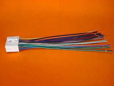 Clarion 18-Pin Wire Harness Plug Vx404 Nx404 Nx602 Nx604 Nx605 Nz503 Vz401 Vz400 8