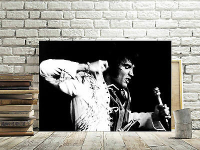 SUPERB ELVIS PRESLEY CANVAS #5 ROCK N ROLL MUSIC CANVAS PICTURE A1 A3 FREE P/&P