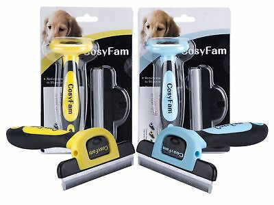 Dog Brush for Shedding-Best Cat Grooming Comb Tools Hair Pet Trimmer Clipper B 5