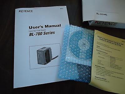 New Keynce Laser Bar Code Reader W/User's Manual M/N Bl-740 & Bl-H1We Series 700 5
