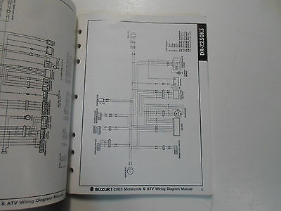 2005 Suzuki Motorcycle Atv Wiring Diagram Manual Models K5 Factory Oem Book 05 Archives Midweek Com