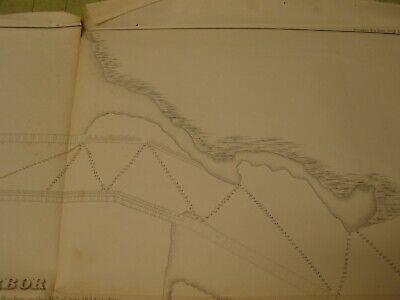 Vermillion / Vermilion Harbor 1854 Map/Sketch/Survey 3
