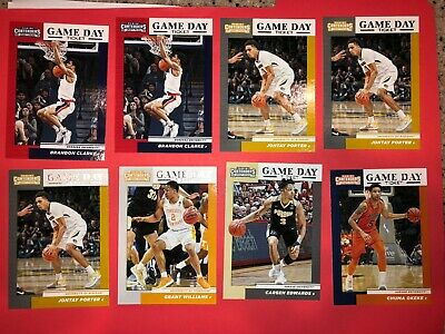 2019 Panini Contenders Draft Picks Basketball Cards Game Day Ticket You Choose 6