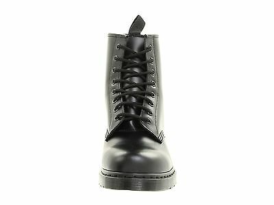 Men's Shoes Dr. Martens 1460 MONO 8 Eye Leather Boots 14353001 BLACK SMOOTH 3