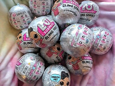 LOL Surprise Bling Holiday Series - 7 Surprises in 1 - Glam Glitter - Authentic 6