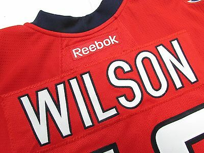 meet 265b3 b25a4 TOM WILSON WASHINGTON Capitals Authentic Home Reebok Edge 2.0 7287 Hockey  Jersey