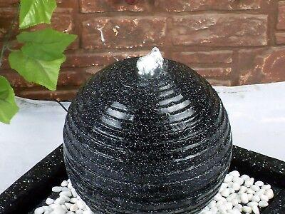 Gardenwize Garden /& Outdoor Solar Buddha Water Feature Fountain with Light Ball
