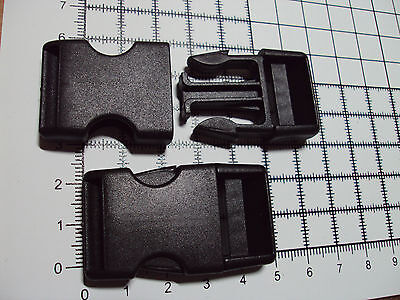 """10pcs. Plastic Side Release Buckles For Webbing 20mm Bags Straps Clips  """"B"""" 3"""