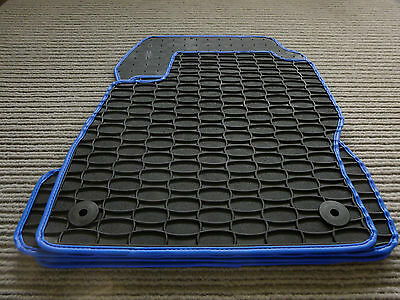 Gummimatten Gummi matten Gummifussmatten fur MERCEDES SprinterVW Crafter ab 2