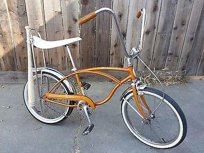 Chrome Baseball Bat Holder Schwinn Stingray Krate Lowrider Cruiser Bikes