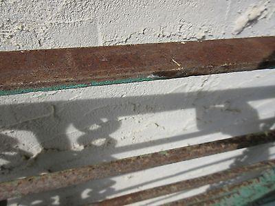 Antique Victorian Iron Gate Window Garden Fence Architectural Salvage Door #355 6