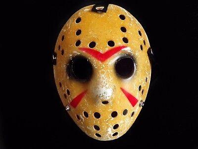 TOP Jason Voorhees Vintage Ice Hockey Horror Maske Freitag der 13 Jason Maske