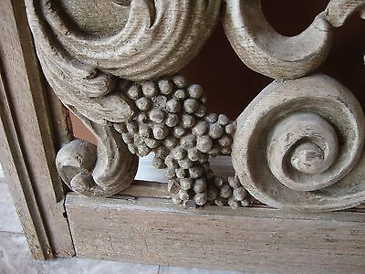 French Carved Outdoor Window Beautiful Detail 2