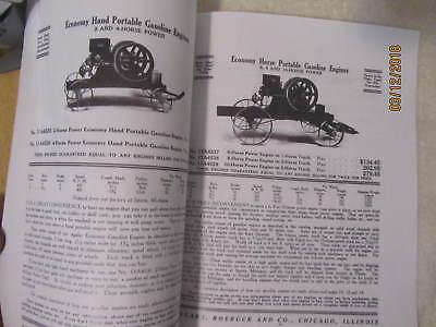Sears Roebuck Co Gasoline Engines Catalog, Sparta Economy Engine Catalog 6
