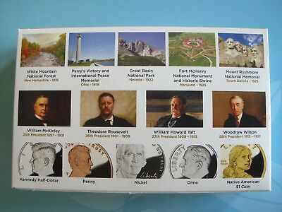2013-S U.S. MINT PROOF SET 14 CLAD COINS ORIGINAL PACKAGING with CERTIFICATE P15 2