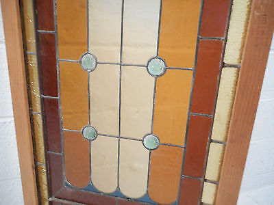 Vintage Stained Glass Window Panel (3068)NJ 7