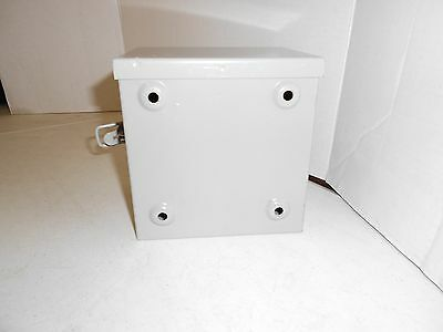 """24/"""" x 24/"""" x 12/"""" OUTSIDE RATED HINGED MILBANK 242412-TC3R Wall-Mount Enclosure"""