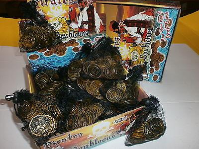 30 Piratenmünzen im Netz Piratenparty Mitgebsel Kindergeburtstag N 75