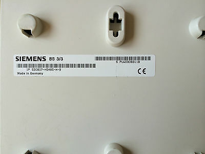 Siemens Hipath Cordless Sender Basisstation BS 3//3 Rechnung Mwst