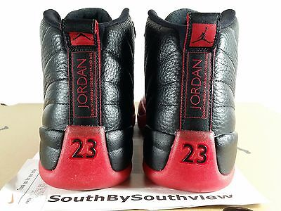 promo code 1edfb 49e44 ... Nike Air Jordan 12 Flu Game Bred 2016 Receipt XII Retro Black Red 130690 -002