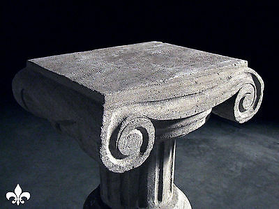 Italian Column Statue Pillar Table Stone Carved Stand 8