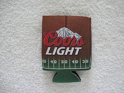 Miller Lite Craft Beer Football 1975 Can Bottle Koozie Pop Cooler 12oz Bud Coors