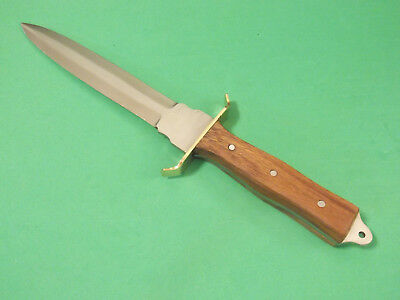 "FULL TANG DAGGER 203363 wood handle fixed blade knife 11 3/8"" overall PA3363 NEW 6"