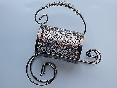 wine bottle holder sts steel copper stainless look modern design free 2nd holder 3