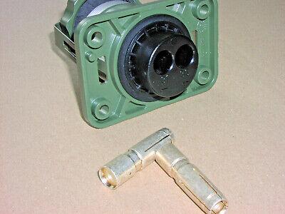 Natodose 2-polig 25 35 50 qmm Dose 12-24 V Volt MAEHLER /& KAEGE Bundeswehr