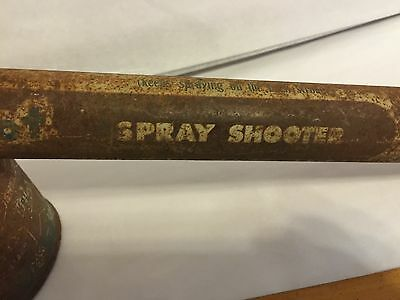 "Vintage Sheriff Hot Shot Spray Shooter, Great Collectible Display Item, 18"" 10"