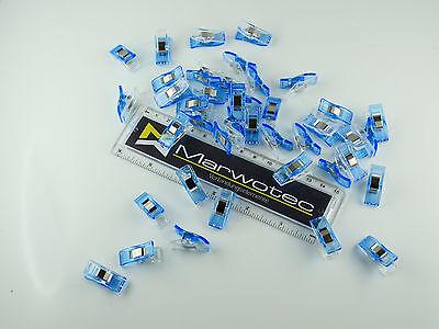 10 - 200 Stück Wonder Clips Nähklammern Stoffklammern Nähzubehör Wonderclips 11