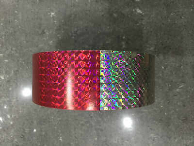 30CM/3M/5M Reflective Safety Warning Conspicuity Tape Film Stickers Multicolor 4