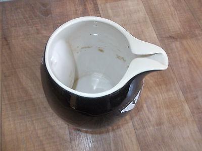 alter Keramik VAT 69 Whisky Krug,Formschöner Whisky Krug,Belgischer Vat 69 Krug 6