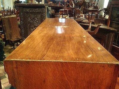 fine quality large antique gothic light golden oak victorian book case 3