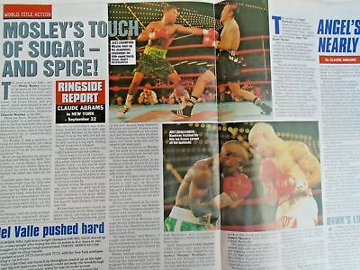 BOXING NEWS - 2nd oct 1998 - herbie, paul, lewis holyfield, naz free p&p to uk 8
