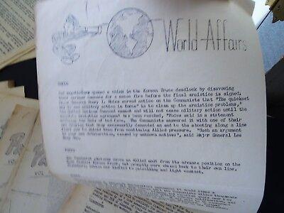 RARE 12 Magazine Newspaper Archive  Pat's Patter Korean War USAT MM Patrick 1951 8