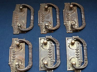 lot vintage Iron furniture handles 6 pcs handles for cabinets 2